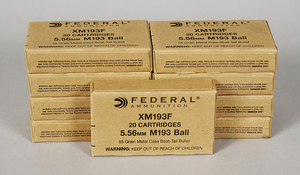 Federal 5.56 M193 Ball Ammunition