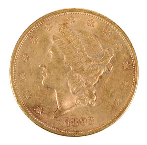 1893-S Gold Double Eagle