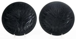 Two Black Lalique