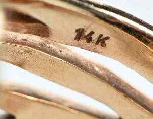 14kt. Gold, Diamond and Gemstone Ring