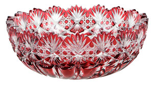 J. Hoare Brilliant Period Cut Glass Bowl