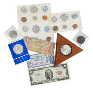 Assorted Collector Coins, Medals and Tokens