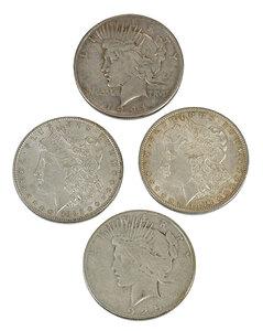 35 Silver U.S. Dollars