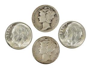 Over 780 Silver U.S. Dimes