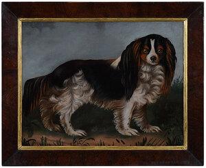 British School Dog Painting