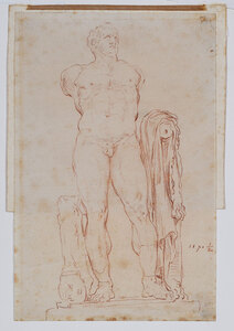 French School Old Master Drawing