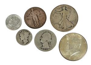 U.S. Silver 90% Coinage