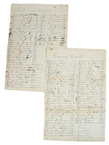Civil War Era Documents
