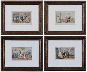 Four Thomas Rowlandson Prints