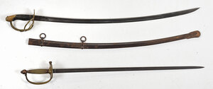 Musician's Sword and Cavalry Saber