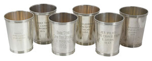 Set of Six Sterling Juleps