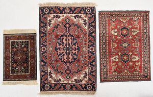 Three Hand Knotted Rugs