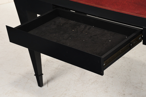 Art Deco Style Leather Inset Writing Desk