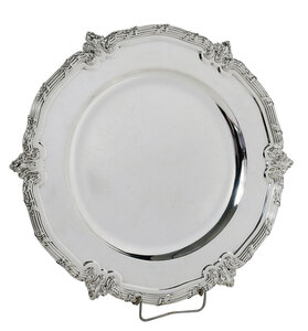 Durgin Sterling Round Tray