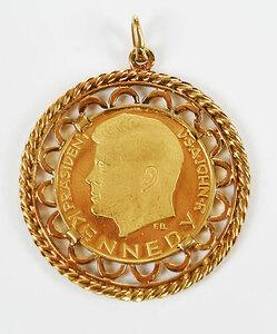 Gold John Kennedy Medal