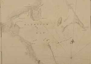 Des Barres - Map of Plymouth Bay