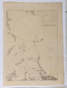 Des Barres - Chart of Boston Harbor, 1775