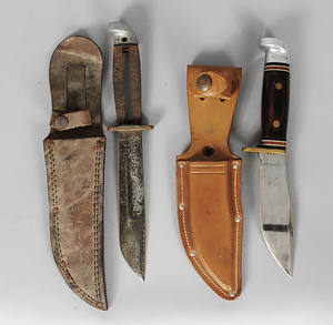 Two Western Hunting Knives