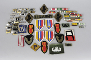 Military Pins, Bars and Patches