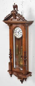 Gustav Becker Three Weight Wall Regulator Clock