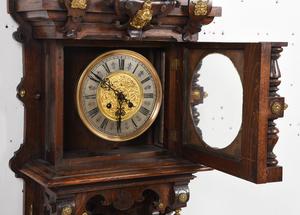 Gustav Becker Open Well Wall Clock