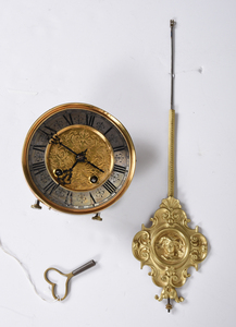 Lenzkirch Carved Oak Balcony Clock