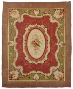 Large Aubusson Tapestry Carpet
