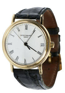 Patek Philippe 18kt. Calatrava Watch