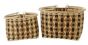 Two Carol Welch Cherokee Shopping Baskets