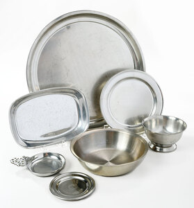 35 Assorted Woodbury Pewter Dishes