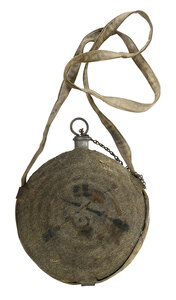 Civil War Era Canteen with Fabric Cover