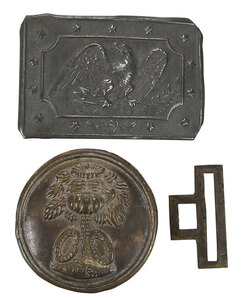 Two Early American Buckles