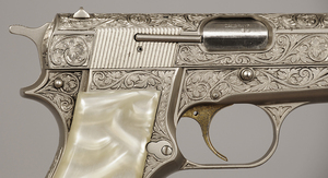 Browning Renaissance Engraved High Power Pistol