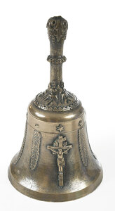 Renaissance Style Bronze Table Bell