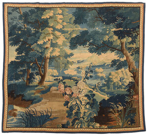 Verdure Wool Tapestry Panel