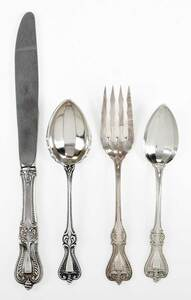 Towle Old Colonial Sterling Flatware, 18 Pieces