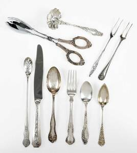 32 Pieces Sterling Flatware