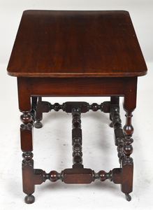 Rare William and Mary Stretcher Base Table