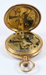 18kt. Chronograph Pocket Watch
