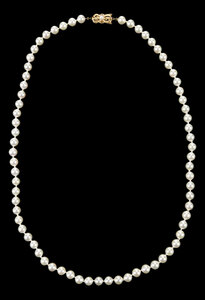 Mikimoto 18kt. Pearl Necklace