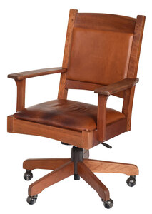 Stickley Arts and Crafts Style Desk Chair