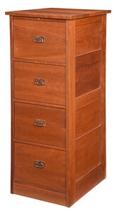 Stickley Arts and Crafts Style Cherry File Cabinet