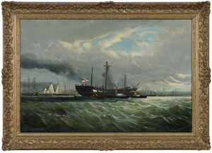 British School Maritime Painting