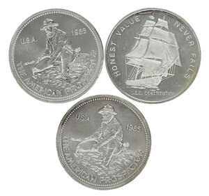 250 One Ounce Silver Rounds