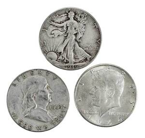 Over 1,000 Silver Half Dollars
