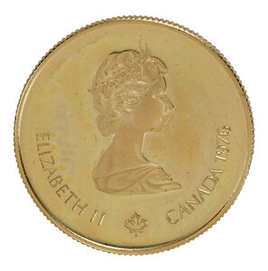 1976 Canadian $100 Olympic Gold Coin