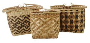 Three Cherokee Shopping Baskets