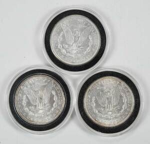 Partial Date Run Morgan Silver Dollars