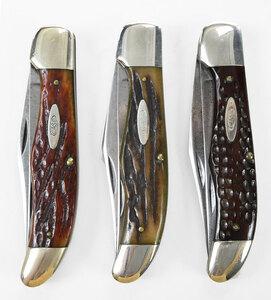 Three Vintage Case Knives