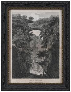 Two 18th Century Views of Natural Bridge, Virginia